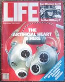 Life Magazine September 1981 The Artificial Heart is Here on cover