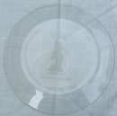 Vintage Etched Glass Souvenir Plate Paul Revere, Boston, Massachusetts