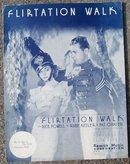 Flirtation Walk starring Dick Powell and Ruby Keeler 1934 Sheet Music