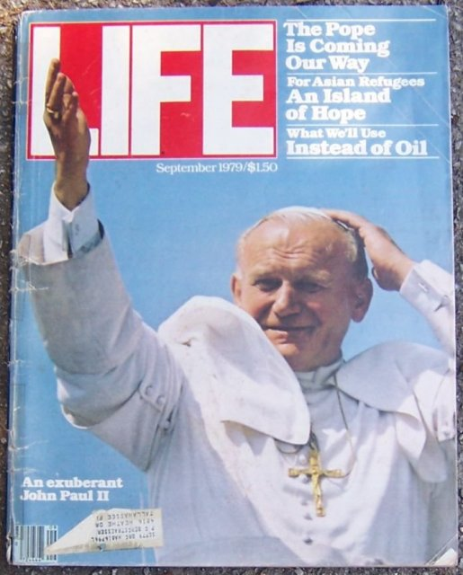 Life Magazine September 1979 Pope John Paul II on the Cover