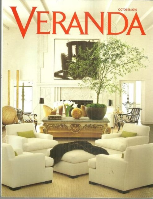 Veranda Magazine October 2010 Piet Oudolf Dutch Gardener
