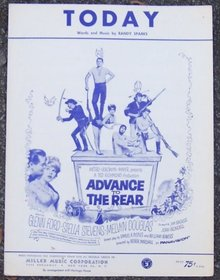 Today From the MGM Picture Advance to the Rear Starring Glenn Ford 1964 Music