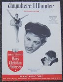 Anywhere I Wander From Hans Christian Andersen Starring Danny Kaye 1951 Music