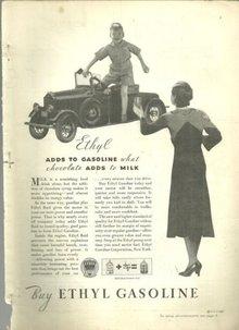 1932 Good Housekeeping Advertisment for Ethyl Gasoline