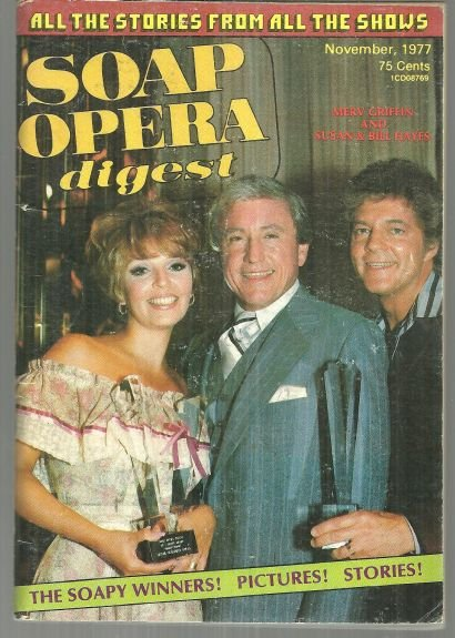 Soap Opera Digest Magazine November 1977 Soapy Winners Susan and Bill Hayes