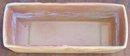 Vintage Roseville Pottery Florane Window Box Planter 94-8 Rust Color