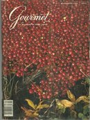 Gourmet Magazine November 1982 A Southern Thanksgiving Dinner
