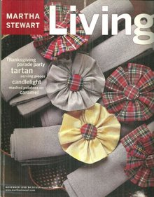 Martha Stewart Living November 1998 Thanksgiving Parade Party
