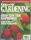 Organic Gardening Magazine November 1996 Raspberries on the Cover