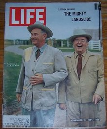 Life Magazine November 13, 1964 The Winners at LBJ's Ranch on cover
