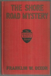 Shore Road Mystery by Franklin Dixon 1928 First Edition Red Cover Hardy Boys #6