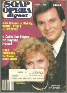 Soap Opera Digest March 1, 1983 Alan and Monica from General Hospital on Cover