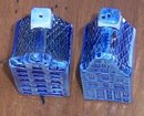 Vintage Blue Delft Handpainted House Salt and Pepper Shakers