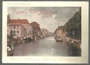 Victorian Trade Card for Cacao Van Houten with View of Holland Canal on Front