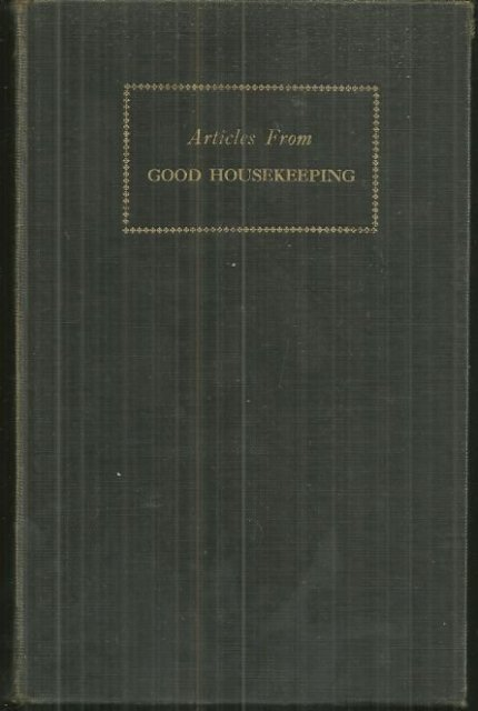 Articles from Good Housekeeping 1943 Collection of Non-Fiction Essays