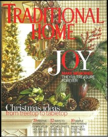 Traditional Home Magazine  December 2009 Christmas Brunch