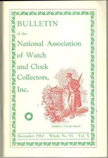 Bulletin of the National Association of Watch and Clock Collectors December 1961