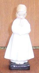 Vintage Royal Doulton Little Girl Praying Figurine Bedtime