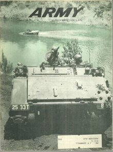 Army Magazine December 1961 River Crossing in Hawaii on the Cover