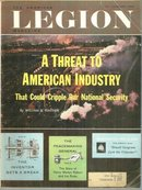 American Legion Magazine January 1963 A Threat to American Industry on Cover