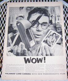 1956 Polaroid Land Camera Life Magazine Advertisement