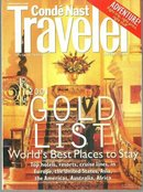 Conde Nast Traveler Magazine January 2001 Islands of Los Roques and Gold List