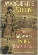 The Woman in the Back Seat by Margurite Steen 1959 1st edition with Dustjacket