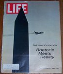 Life Magazine January 31, 1969  Richard Nixon's Inauguration