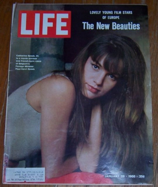 Life Magazine January 28, 1966 Catherine Spaak On cover