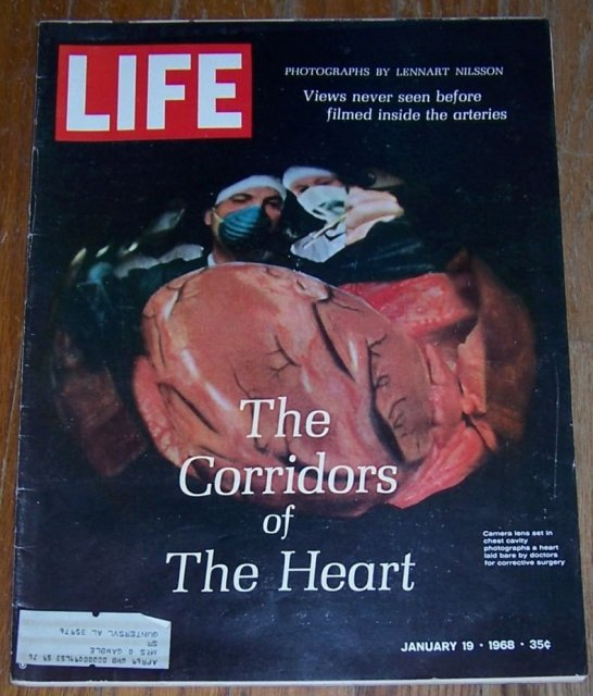 Life Magazine January 19, 1968 Corridors of the Heart On cover