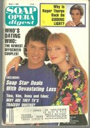 Soap Opera Digest March 7, 1989 Tina and Cord From One Life to Life on Cover