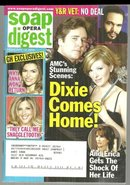Soap Opera Digest February 14, 2006 Dixie Comes Home on the Cover