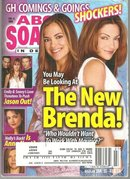 ABC Soaps in Depth Magazine February 14, 2006 The New Brenda? on the Cover