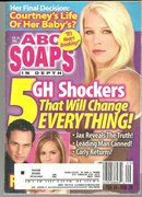 ABC Soaps in Depth Magazine February 28, 2006 General Hospital Shockers On Cover