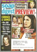 Soap Opera Digest February 7, 2006 February Sweeps on the Cover