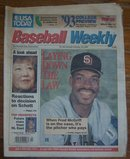 Baseball Weekly Magazine February 23, 1993 Fred McGriff on cover
