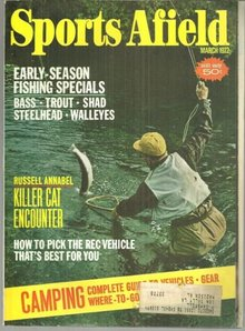 Sports Afield Magazine March 1972 Bonus Camping Section