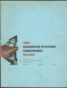 1966 Aerospace Systems Conference Record 4 July 1966 Seattle, Washington
