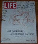 Life Magazine March 3, 1967 Lost Notebooks of Leonardo da Vinci on cover