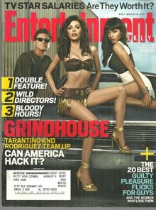 Entertainment Weekly Magazine March 30, 2007 Grindhouse on the Cover