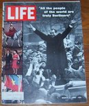 Life Magazine March 7, 1969 Nixon in Berlin on cover