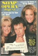 Soap Opera Digest Magazine August 28, 1984 History of All My Children
