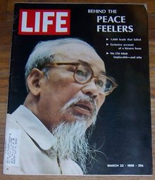 Life Magazine March 22, 1968 Peace Feelers on the cover