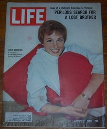 Life Magazine March 12, 1965 Julie Andrews on cover