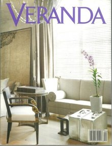 Veranda Magazine March/April 2003 Joanna and Sidney Poitier at Home