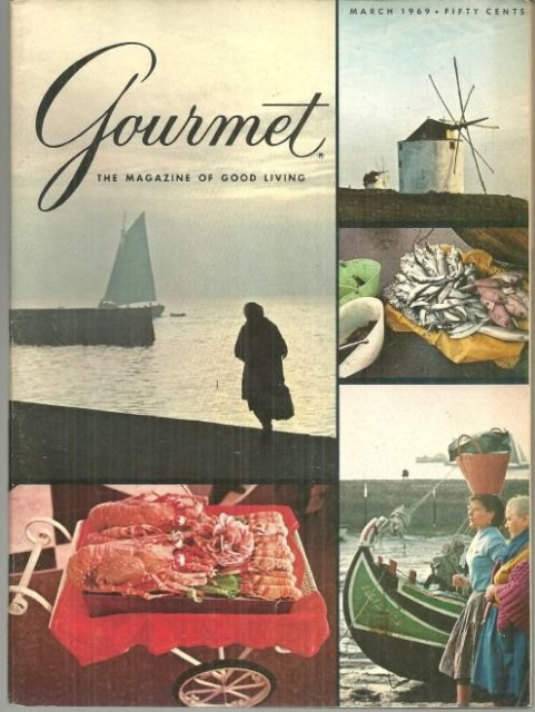 Gourmet Magazine March 1969 Roasting Beef with James Beard