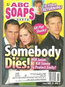 ABC Soaps in Depth Magazine April 11, 2006 General Hospital Somebody Dies Cover