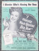 I Wonder Who's Kissing Her Now starring June Haver and Mark Stevens 1936 Music