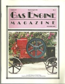 Gas Engine Magazine March/April 1985 Metcalfs and Manufacturing in Quincy
