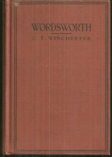 William Wordsworth, How to Know Him with Portrait by C. T. Winchester 1916 1st